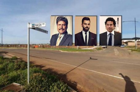 Streets named after Kapil, Sachin, Virat in Melbourne housing state