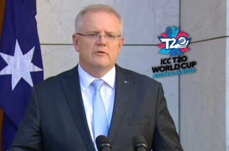 Australian PM's decision propels hopes for T20 World Cup this year