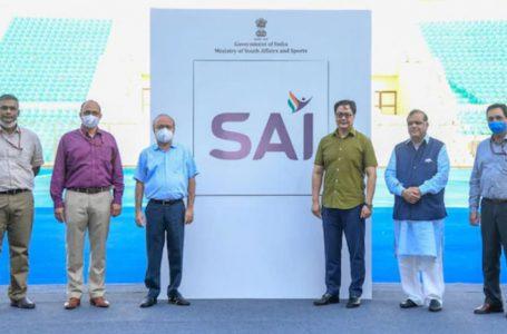 Sports Minister Kiren Rijiju launches new SAI logo