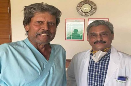 Kapil Dev back home after angioplasty