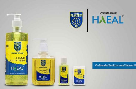 ISL: Kerala Blasters launch 3 personal hygiene products with Haeal