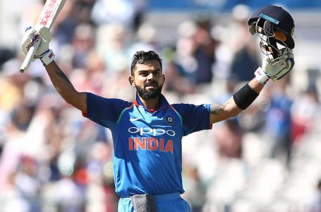 Kohli named Wisden Almanack's ODI cricketer of the 2010s
