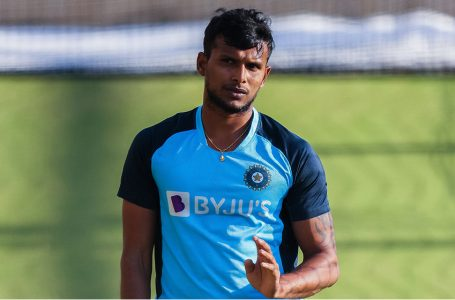 The dream run continues for T Natarajan, added to the Test squad for last two matches