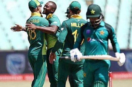 Pakistan to tour South Africa for 3 ODIs, 4 T20Is in April