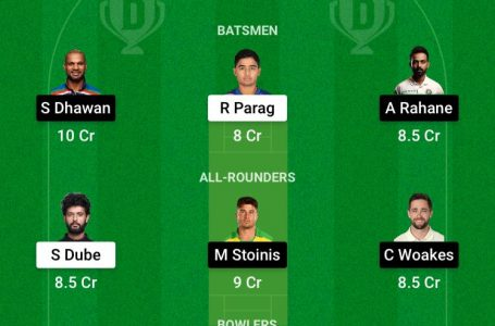 IPL 2021: RR Vs DC Dream11 Prediction, Fantasy Playing XI