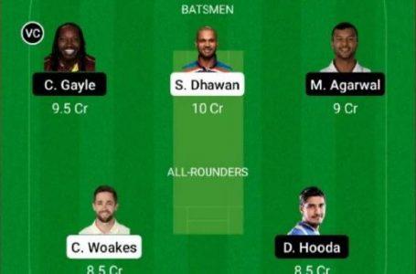 IPL 2021: DC Vs PBKS Dream11 Prediction, Fantasy Playing XI