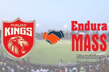 IPL 2021: Endura Mass onboards Punjab Kings as Official nutrition partner