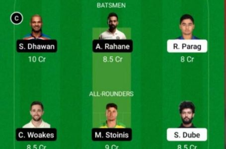IPL 2021: RR Vs DC Dream11 Prediction, Fantasy Playing XI